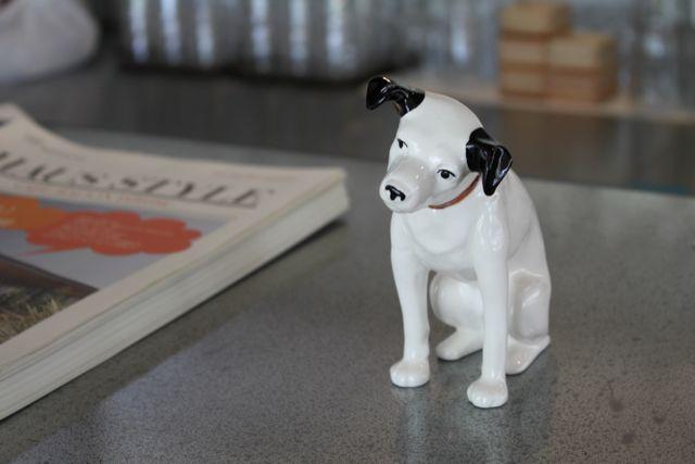 CAFE;HAUS ビクター犬