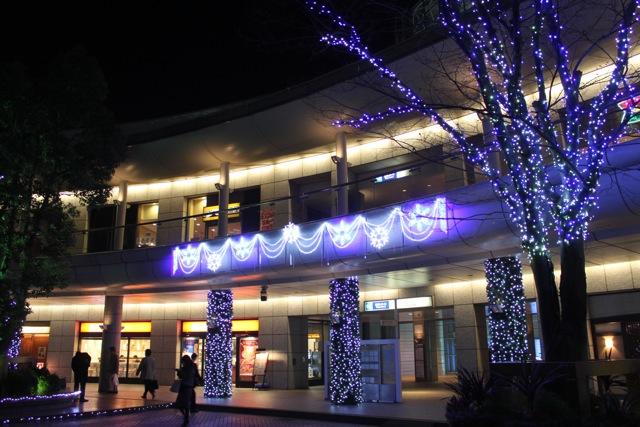 豊洲駅のイルミネーション