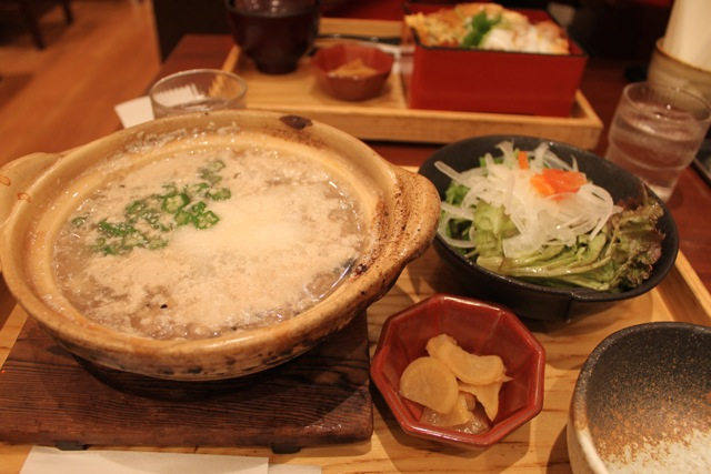 九穀雑炊ととろろの豆乳雑炊
