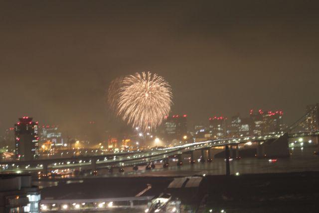 台場の花火2011