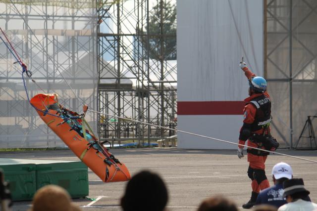 第四十一回消防救助技術大会in豊洲