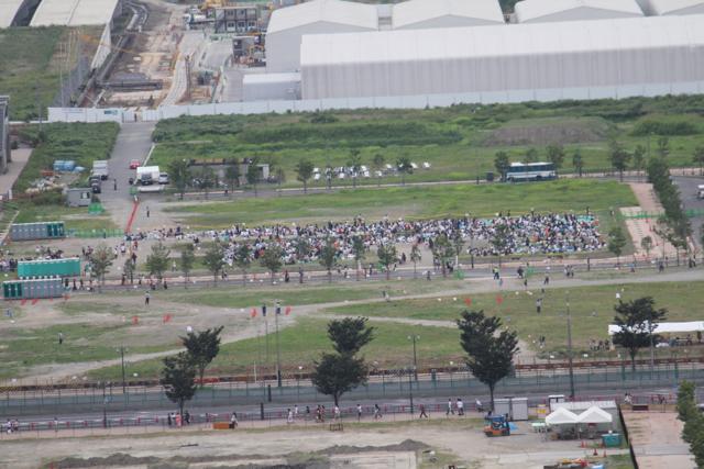 豊洲新市場 東京湾大華火祭