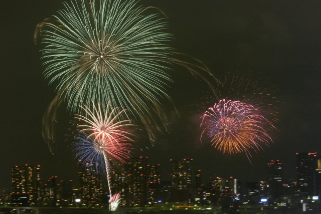 第24回東京湾大華火祭in豊洲