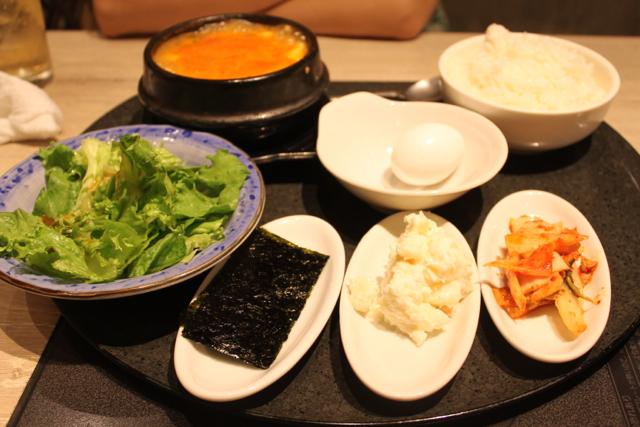 韓国料理チャング ランチメニュー