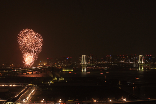 東京ミュージック花火2012in豊洲