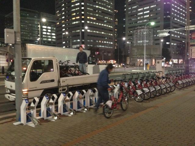 コミュニティサイクル自転車回収