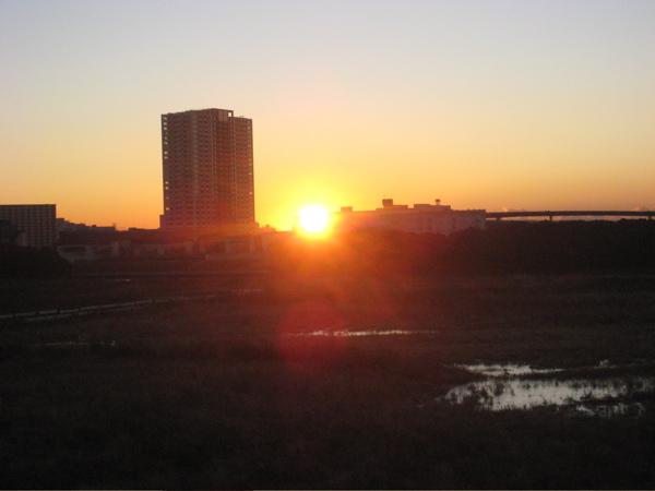 2008・豊洲の初日の出