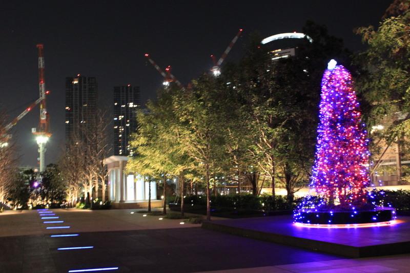 パークシティ豊洲のクリスマスツリー